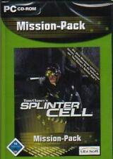 Tom Clancy's SPLINTER CELL MISSION PACK DeutschBRANDNEU