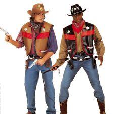 Cowboy Weste Sheriff Uniform XL 54/56 Western Waistcoat Wilder Westen Oberteil