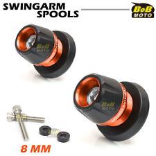 For Suzuki SV1000/S 03 04 05 06 07 BoB CNC Swingarm Spools