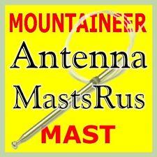 "Mercury MOUNTAINEER AM/FM Power Antenna MAST 1998-2001 Stainless Steel ""NEW"""