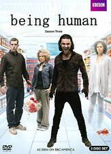 Being Human Season 3 DVD Set BBC - New, Still Sealed - Free Shipping