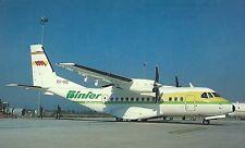 Binter Mediterraneo  Casa CN-235-100  Toulouse  France     Postcard  Airplane