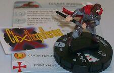 CESARE BORGIA 005 #5 Assassin's Creed Brotherhood HeroClix
