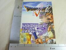 DRAGON QUEST V 5 Guide Book #1 PS2 SE41*
