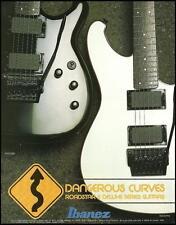 Ibanez 1985 Roadstar II Deluxe Series RS525 RS530 guitar ad 8 x 11 advertisement