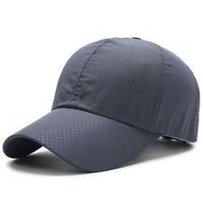 2552522d4a1 Women Men Sport Baseball Mesh Hat Running Visor Quick-drying Cap Summer  Outdoor