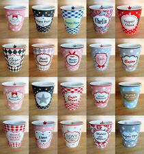 Krasilnikoff - Kaffeebecher - Happy Mug - Keramik - Tasse - bunt - Tee -