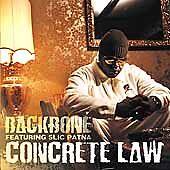 Backbone: Concrete Law Clean Audio Cassette