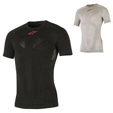 1751017 Alpinestars Mens Tech Top Compression T-Shirt Base Layer Biking  Cycling 832f91817