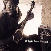 "ALI FARKA TOURE ""Niafunke"" 1999 Hannibal; Mali, Africa Acoustic/Electric Guitars"