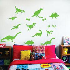 Dinosaurs Wall Art Sticker Set - Dinosaurs, Dinos, T-Rex, Apatosaurus, Diplodocu