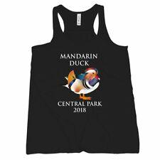 Mandarin Duck Tank Top Women Central Park Mandarin Duck New York