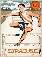 Choose Paper or Canvas POSTER.Syracuse Jump team.Sport.Home Room art print.q0381