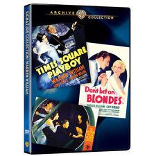 Warren William Collection The 3 DVD Set blonde, playboy