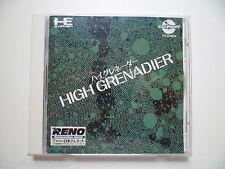 PC ENGINE DUO CD ROM 2 SUPER CD ROM GAME HIGH GRENADIER