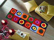 wash+dry Fußmatte Sergej waschbare Designfußmatte strahlende Farben 5 Größen