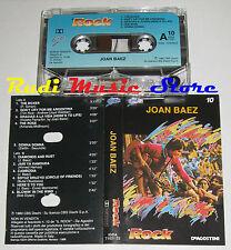 MC JOAN BAEZ Rock DeAGOSTINI  ITALY 1980 10 PROMO CBS no cd lp dvd vhs
