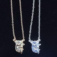 Koala Bear Pendant ~Koala Necklace ~ Australian Themed Jewellery ~Silver or Gold