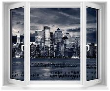 Sticker fenêtre trompe l'oeil New York réf 140