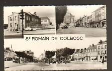 SAINT-ROMAIN-de-COLBOSC (76) ECOLE & COMMERCES animé