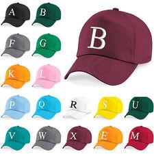 Baseball Cap Kids Letter Hat Girls Boys Childrens Kids Summer Botte Burgundy