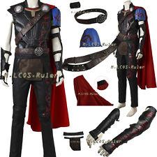 NEW ARRIVAL Thor Ragnarok Thor Odinson Cosplay Costume Full Suit Hallowmas Set