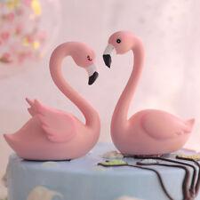 Wedding Birthday Flamingo Cake Topper, Party Decoration For Anniversary FI