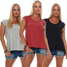 ROCK ANGEL Camiseta de mujer cuello redondo manga corta top camisa verano Nueva