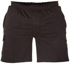 John- D555 tailles Supérieures coton courte noire (2030)
