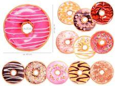 Donut Kissen Doughnut Dekokissen Sofa Sitzkissen Kuschel-Kissen 40 cm Cartoon
