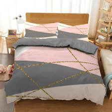 Geometric Shadow 3D Printing Duvet Quilt Doona Covers Pillow Case Bedding Sets