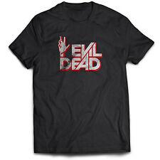 Evil Dead película de Terror de Zombie Vampiro Aterrador Película Tumblr 80s 90s Retro T Shirt