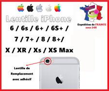 IPHONE 6/6S/7/8/PLUS/X/XR/XS/MAX Lentille vitre caméra appareil photo Lens verre