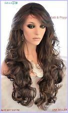 Long Wavy Heat Safe Skin Top Wig  FS4.27  *Incredible Sensual Style 1181