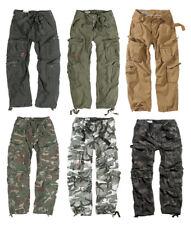 SURPLUS Airborne Vintage Trouser Cargohose Freizeithose Camouflage Tarnhose 3e2b96694f