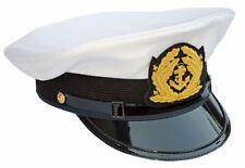 PREMIUM Gorro de Capitán Alta Calidad Marinero sombrero navegante