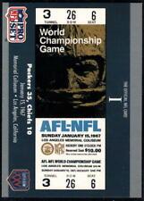 1990 Pro Set Super Bowl Tickets - Pick A Card