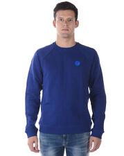 Felpa Versace Collection Sweatshirt Hoodie Uomo Blu V800687SSVJ00358 V7023