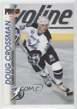 1992-93 Pro Set #180 Doug Crossman Tampa Bay Lightning Hockey Card