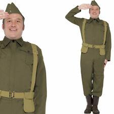 Mens 40's Home Guard Fancy Dress Costume World War 2 WW2 Uniform
