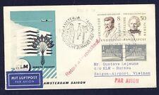 45498) KLM FF Amsterdam - Saigon Vietnam 31.3.59, SoU ab Berlin MiF