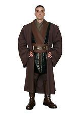 Dark Brown Jedi Robe+Tunic Compatible with an Anakin Jedi Knight Costume Quality