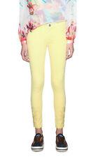 Desigual Lemon Yellow Skinny Emerick Jeans 36-46 UK 8-18  RRP �84