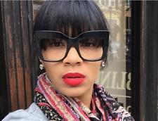 Fashion Vintage Oversize Glasses Frames Women Eyeglasses Eyewear Sunglasses
