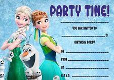 Paquetes de lanzamiento un 10/20/30 / 40 congelados fiebre Invitaciones-Carteles Tarjetas Dvds Juguetes Banners