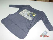 NWT Womens U of M Michigan Wolverines Shirt Football Sport Pullover top