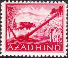 Stamp Germany India Mi 09 1943 WW2 3rd Reich Azad Hind Army Farmer Legion MNH