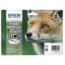 multi pack 4 CARTOUCHE EPSON T1285 NOIR JAUNE CYAN MAGENTA / T128 renard t1281
