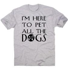 Neues Angebot Ich bin hier Lustig Hund T-Shirt Herren