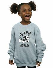 Disney Niñas Mickey Mouse #Crazy Camisa De Entrenamiento
